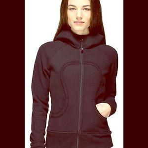 Lululemon Scuba Sweatshirt Hoodie Black/Marbled 2
